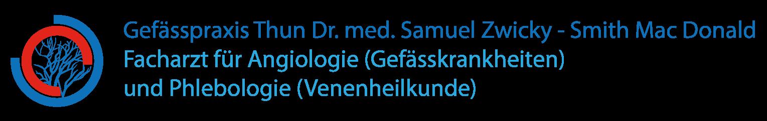 Gefässpraxis Thun | Dr. med. Samuel Zwicky-Smith Mac Donald